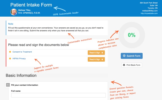 How To Create A Client Intake Form In 10 Minutes